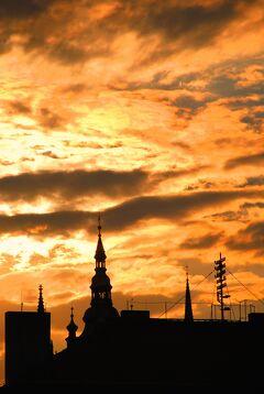 Czech プラハの休日⑧ モルダウ川ナイトクルーズ