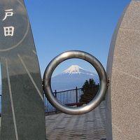 出逢い岬(戸田)で富士山の撮影