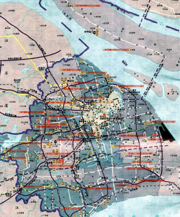 上海の歴史は、「申」「滬」の由来から上海は略称「滬」、別称「申」、約6千年前には現在の上海西地域は既に陸地となっており、 東地域は陸地になって、2千年経った。春秋戦国時代、上海は楚国春申君・黄シであったため、別称「申」となった。紀元4,5世紀の晋朝、松江(現在の蘇州河)及び海辺に住んでいる人々はほとんどが漁民であり、彼らが作った竹製の魚取道具は「扈」という。また、当時河が海に流れるとことを「涜」というので、松江下流付近は「扈」を「滬」と変えた。上海郊外の古い村(古鎮・水郷)を巡りました。