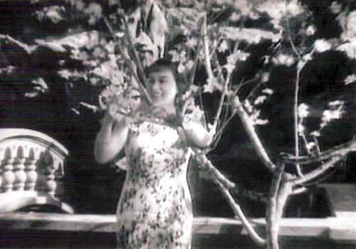 上海の映画(支那の夜)・李香蘭
