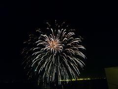 冬の福岡 優雅なリゾートライフ Vol5(第2日目夜) 博多料亭「稚加榮(ちかえ)」で新鮮な魚介料理 ザ・ルイガンズの花火