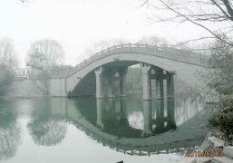 三国志の許昌灞陵橋