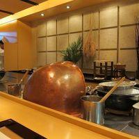 宇都宮 ホテル・ザ・セントレ 天ぷら 治兵衛 に行ってきました。