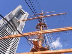 帆船日本丸、初乗船