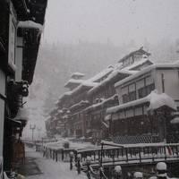 銀山温泉~雪景色