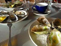 バリラ・ベイ・オイスターズで牡蠣料理の夕食