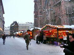 年末年始のフランス #2 - ストラスブール、大雪のクリスマス