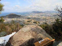 博智山八畳岩登山