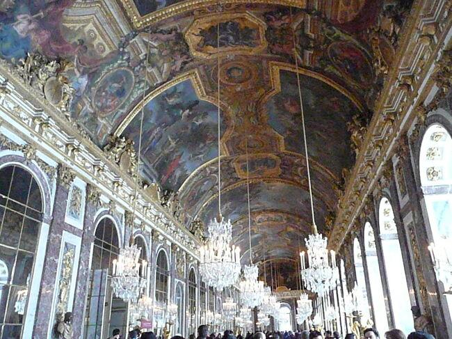 年末年始のフランス #3 - 大雪のベルサイユ宮殿