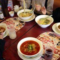 25.年末年始の蓼科7泊8日の年越し旅行 バーミヤン 須玉インター店の昼食
