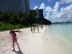 グアム ハッピーバレンタイン!Vol13(第5日目:午前) タモンビーチで優雅に過ごす♪ ランチはラーメン!