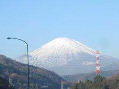 【東名高速道路】車窓の景色  富士山がよく見えた日