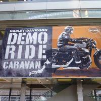 2011年、H-D Motorcycles DEMO RIDE CARAVAN in NAGOYA!!