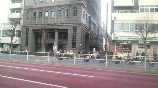 プチ東京マラソン見学