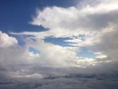グアム ハッピーバレンタイン!Vol19(第7日目:午後) グアム国際空港のVIPラウンジとデルタ航空ビジネスクラスで帰国♪