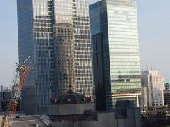 東京駅丸の内側付近の風景②新丸の内ビル7階ベランダからの風景