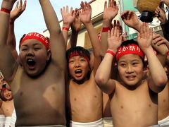 2011年吉備の国岡山に海から山から里から春をよぶ旬の祭り(西大寺会陽)