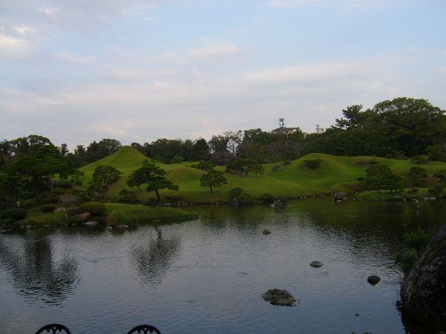 熊本市内観光の続き〜<br />熊本城からの水前寺公園へ