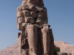 古代都市テーベ メムノンの巨像