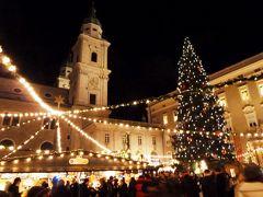 小走り =3 クリスマスマーケット巡り ザルツブルク(7)元祖モーツァルトチョコ♪