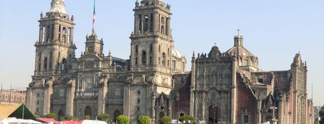 メキシコ遺跡巡り一人旅�メキシコシティー