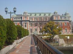 大阪中之島散歩 淀屋橋から肥後橋まで  国際美術館    レトロな町なみ散策12