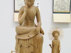 2011春、豊田市民文化会館(3完)豊田市民文化会館・慶派仏像展、弥勒菩薩像、釈迦如来像他