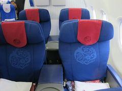 中国東方航空 MU729 ビジネスクラス 上海発 → 関西空港行