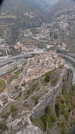 2011.2モナコ・リビエラ・マルタ一人旅11-Entrevaux(アントルヴォー)の砦