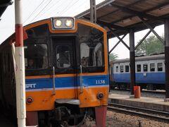 ラオス・ビエンチャンへ鉄道の旅1(羽田からバンコクへ・ファラムポーン駅出発)