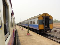 ラオス・ビエンチャンへ鉄道の旅3(ノンカーイから国境を越える)