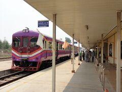 ラオス・ビエンチャンへ鉄道の旅4(ビエンチャンに到着)