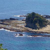 尾崎ウィングから伊豆七島を眺める。