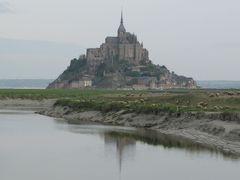 フランスの旅(1)・・奇跡の修道院、モンサンミッシェルを訪ねて