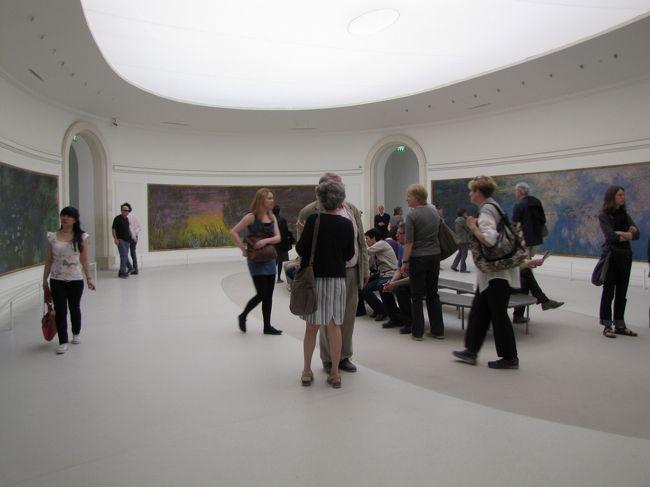 フランスの旅(7)・・じゅっくり堪能、オランジュリー美術館とロダン美術館を訪ねて