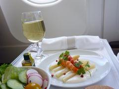 スイスの南国! 魅惑のティチーノ旅♪ Vol1(第1日目午前~昼) 成田からルガノへ:成田空港のラウンジとスイス航空のビジネスクラス♪