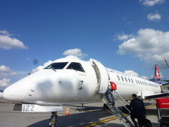 スイスの南国! 魅惑のティチーノ旅♪ Vol2(第1日目午後) 成田からルガノへ:チューリッヒ空港のスイス航空ラウンジと国内線♪