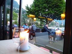 スイスの南国! 魅惑のティチーノ旅♪ Vol5(第1日目夜) ルガノ:湖岸のディナーと夜景♪