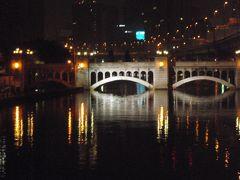 今宵、貴女となにわ橋  夜風に吹かれて中央公会堂  気分はパリ ポンヌフ    レトロな町なみ散策13