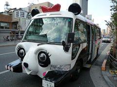 浅草からパンダバスに乗って上野動物園へ