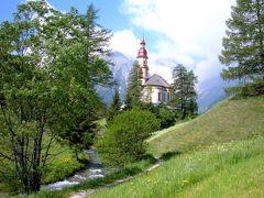 絵葉書の村に行きたい チロル・オーベルンベルクの教会