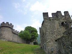 スイスの南国!魅惑のティチーノ旅♪ Vol13(第2日目昼) ベリンツォーナ 世界遺産!三つの古城と城壁 ☆モンテベッロ城♪