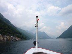 スイスの南国!魅惑のティチーノ旅♪ Vol17(第2日目午後) ルガノ ☆ルガノ湖の可愛い漁村ガンドリアへ♪