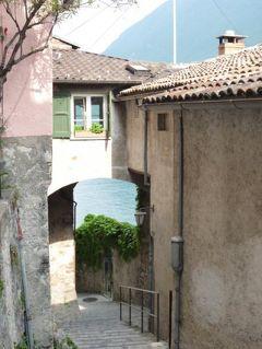 スイスの南国!魅惑のティチーノ旅♪ Vol18(第2日目夕方) ルガノ ☆ルガノ湖の可愛い漁村ガンドリア♪