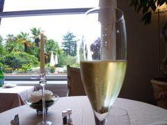 スイスの南国!魅惑のティチーノ旅♪ Vol21(第2日目夜) ルガノ ☆最高級ホテルの優雅なディナーコース♪