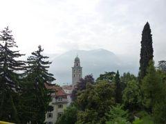 スイスの南国!魅惑のティチーノ旅♪ Vol22(第3日目朝) ルガノ ☆ルガノ駅からの美しい眺望と近郊のメリデへ♪