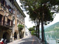 スイスの南国!魅惑のティチーノ旅♪ Vol28(第3日目昼) ルガノ ☆美しいモルコーテ♪ 優雅に旬のアスパラガス料理を味わう♪