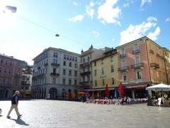 スイスの南国!魅惑のティチーノ旅♪ Vol31(第3日目夕方) ルガノ旧市街の観光とショッピング♪広場で優雅にディナー♪