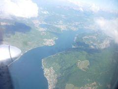スイスの南国!魅惑のティチーノ旅♪ Vol35(第4日目午前) ルガノ国際空港のラウンジとチューリッヒへの飛行機♪