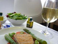スイスの南国!魅惑のティチーノ旅♪ Vol36(第4日目昼) チューリッヒ国際空港のラウンジとスイス航空のビジネスクラスで優雅に帰国♪